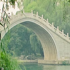 Beijing Attractions - Summer Palace Gardens and Bridge