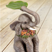 Animal Symbolism: Elephant - Side Tables - Elephant Side Table - Figurine - Sculpture - Statue
