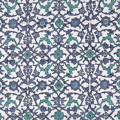 This is a tile from the Topkapi palace.