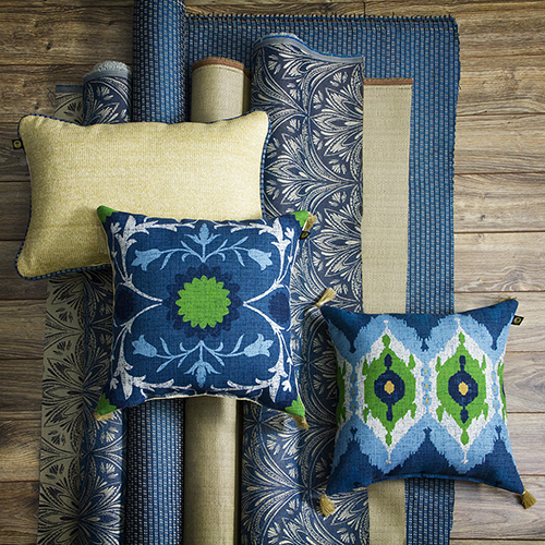 Fabric and pillows!
