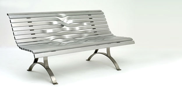 Patio Furniture Ideas: Outdoor Furniture - Garden Furniture - Design - Art - Bench - Pablo Reinoso - Spaghetti Bench - Aluminum