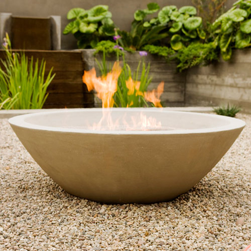 outdoor decorating ideas, 2014, fire pit bowl, Asian garden, zen