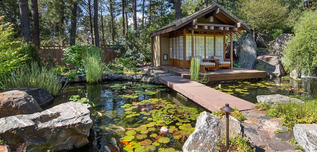 japanese patio furniture. Outdoor Living Spaces: Patio, Forest, Asian, Japanese, Pond, Water Lilies Japanese Patio Furniture U