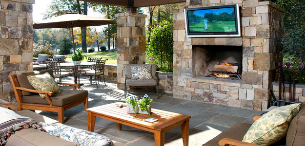 Outdoor Rooms: Patio - Outdoor Cabin - Atlanta