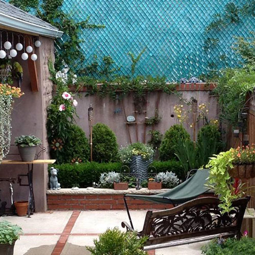 Enjoy these tranquil outdoor living spaces bombay outdoors for Decorating outdoor spaces