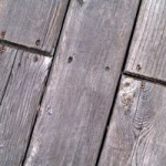 Spring Cleaning: Backyard Deck