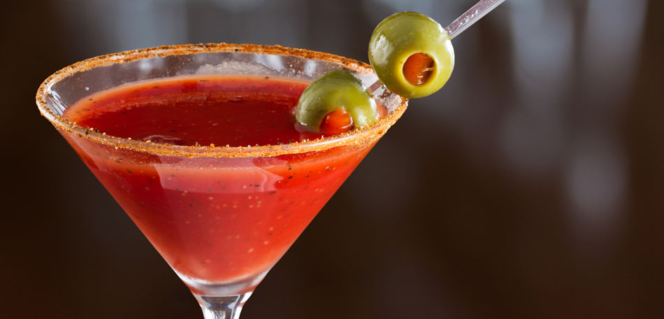 halloween party ideas, bloody mary cocktail