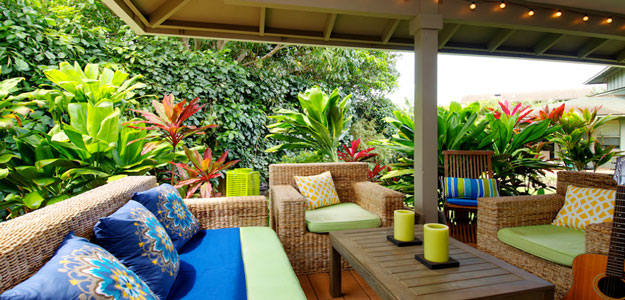 Wicker Patio Furniture: Hawaii - Maui - Porch - Wicker Chairs - Wicker Sofa