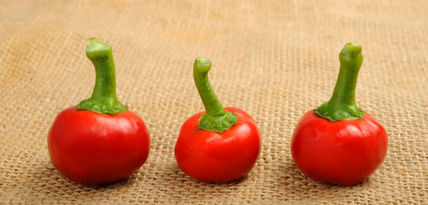 Cherry Peppers: Pimiento, Pimento, Cherry Peppers, Mild Heat, Tips, Choosing, 3 Peppers, Table, Fresh