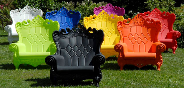 Decorating with Color: Bright Colors - Carla - Style - Outdoor Decor - Bright Colors - Patio Furniture - Colorful Outdoor Furniture