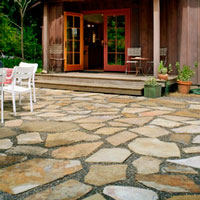 Patio Maintenance: Stone Patio - Contemporary Stone Patio