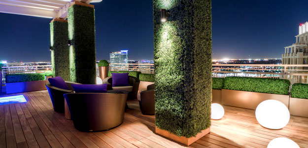 Rooftop Gardens: Ancient Idea - Modern Benefits - Modern Urban Roof Garden - Patio - Dallas