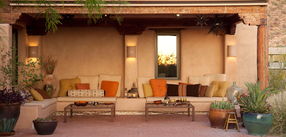 Patio Design Ideas Can Evoke Times And Places