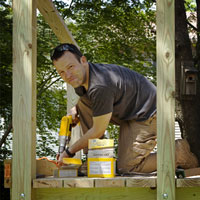 Backyard Playsets: Kids, Playing Outside - Outdoors - Make Your Own - DIY Backyard Playsets