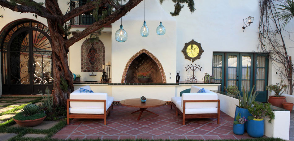 Outdoor Decorating Ideas, 2014, Eclectic Patio Seating Set, Outdoor  Furniture Set, Outdoor