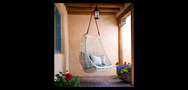 Patio Furniture Ideas: Outdoor Furniture - Garden Furniture - Design - Art - Swing - Kettal - Egg Swing - Santa Fe - R Brant Design