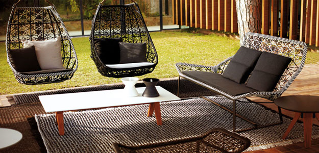 Patio Furniture Ideas: Outdoor Furniture - Garden Furniture - Design - Art - Swing - Kettal Group - Kettal Maia - Egg Swing - Spain