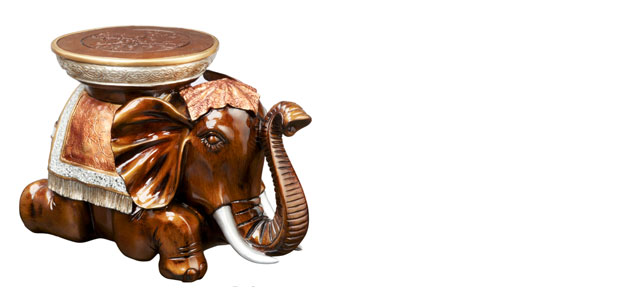 Animal Character Tables - Outdoor Decor - Bombay Company - Furniture - Bali Elephant Table