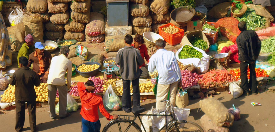 farmer's market, Jamalpur, India