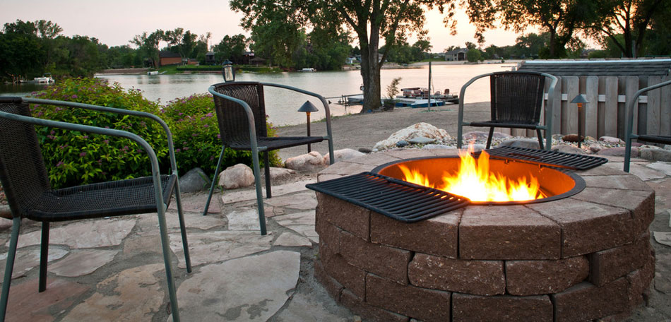 fire pit cooking, Omaha, Nebraska