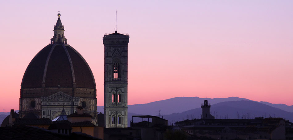 Beautiful Sunsets: Europe, European Countries, Sunset Locations, Sunsets, Places, Countries, Bombay Outdoors, Inspiration, Italy, Florence, Florence Cathedral, Il Duomo di Firenze, Basilica di Santa Maria del Fiore, Basilica of Saint Mary of the Flower, Architecture, Dome, Sunrise
