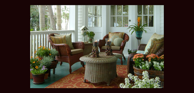 Outdoor Rooms: Porches - Porch - Eclectic - Florida