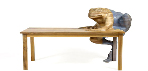 Animal Character Tables - Outdoor Decor - Furniture - Frog Tables - Designs - Frog Table Design