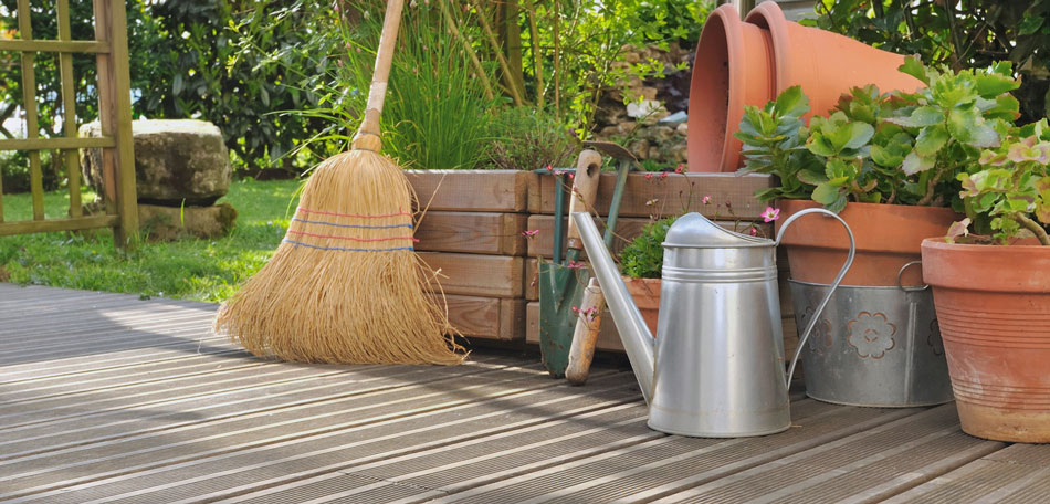 garden clean up, accessories