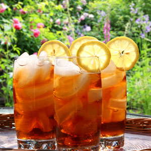 Iced Tea: National Iced Tea Day - Favorite Outdoor Drink - In the Garden