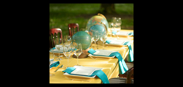 Table Decoration Ideas: Table Decorations, Table Decorating, Outdoors, Globes, Centerpieces