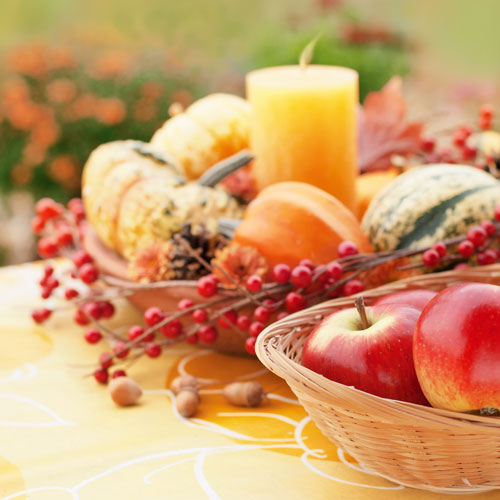 pumpkin, pumpkins, gourd, gourds, candle, apple, apples, berries, table, table setting, fall, autumn, patio, patio table, patio party, fall decorating, outdoor entertaining, fall food, table decor, table decoration, table decorating, fall entertaining