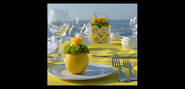 table decoration ideas table decorations table decorating grapefruit decorated dining table - Table Decoration