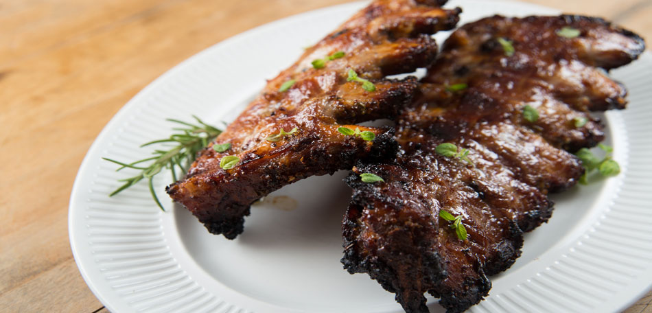 grilled beef ribs, adult halloween party ideas