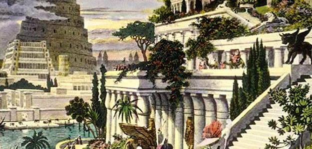 Rooftop Gardens: Ancient Idea - Modern Benefits - Hanging Gardens of Babylon