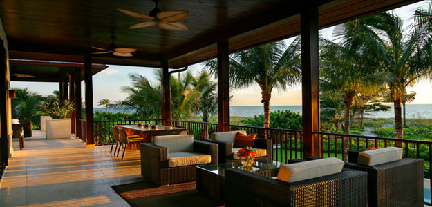 Wicker Patio Furniture: Hawaii - Sunset - Deck - Wicker Chairs