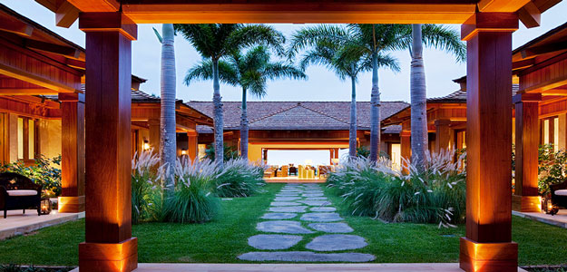Wicker Patio Furniture: Hawaii - Entrance - Courtyard - Wicker Furniture