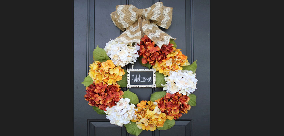 fall, autumn, holidays, burlap, ribbon, burlap ribbon, homemade, wreath, decor, front door, flowers, front porch, fall colors, outdoors, fall wreaths, how to make a wreath, outdoor decor, home made, decorate, fall wreath