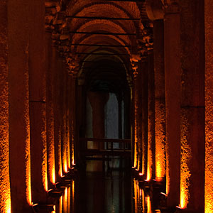 Istanbul Attractions - The Basilica Cistern