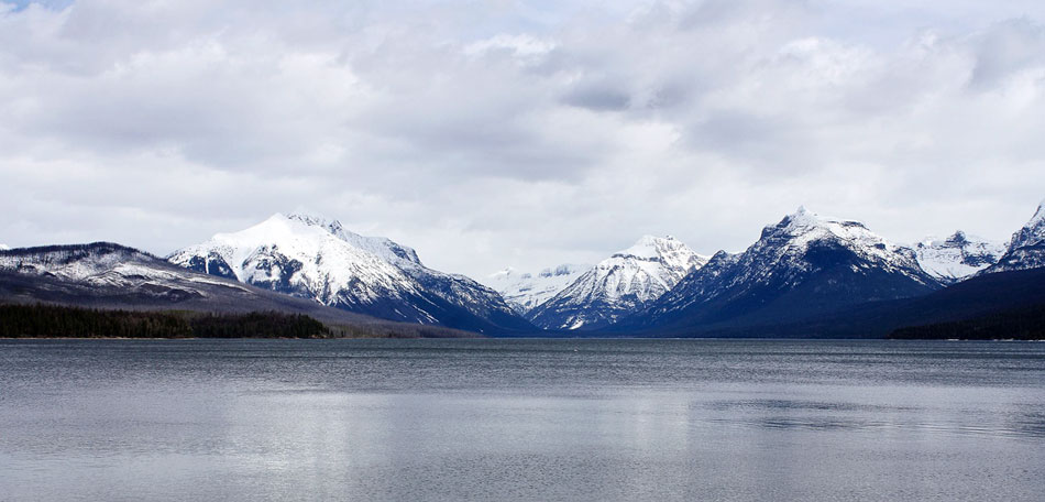 Lake McDonald scenery