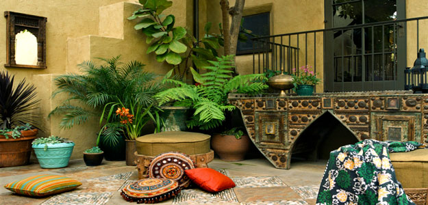 Global Decor: African Inspired - Africa - Mediterranean - Patio - Los Angeles - California