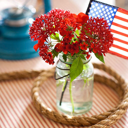 party tips, July 4th Centerpiece