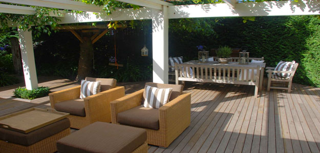 Wicker Patio Furniture: Australia - Melbourne - Pergola - Patio - Contemporary - Wicker Chairs - Chair Cushions - Wicker Ottoman