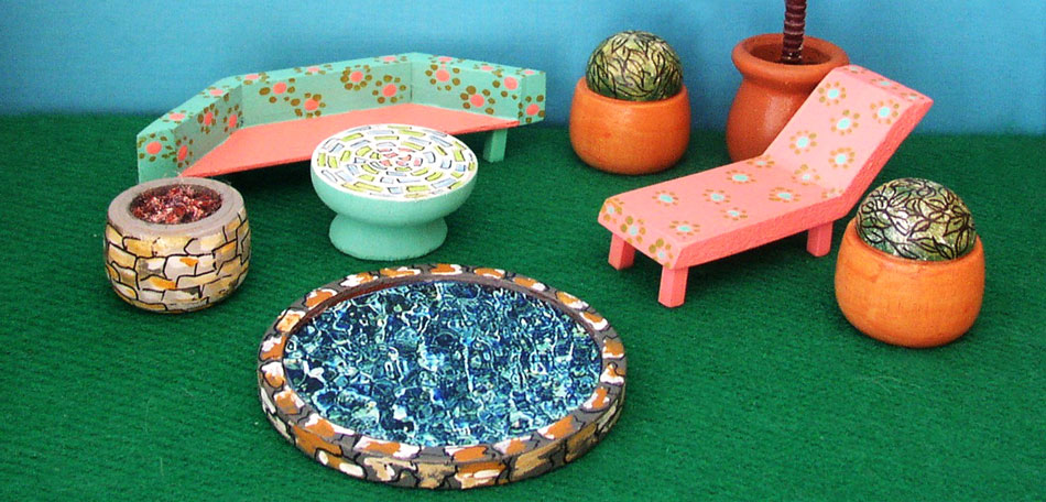 Gift Ideas, Dollhouse, Gifts, Children, Girls, Doll House, Patio Furniture
