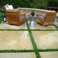 Patio Maintenance: Concrete Patio - Modern Style - Modern Concrete Patio - Patio Furniture
