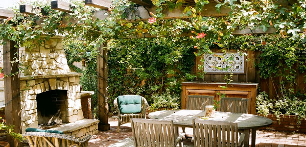 Outdoor Rooms: Pergola Patio - Outdoor Room - Pergola - Monterey, CA