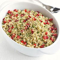 Moroccan Couscous with Pomegranate