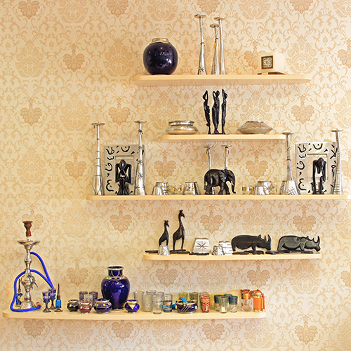 Add global décor to your home.