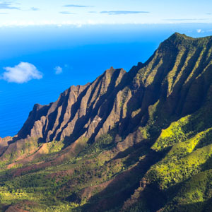 Kauai Hawaii -- Napali Coast - Mountains - Pacific Ocean - Places to Visit - Bucket List