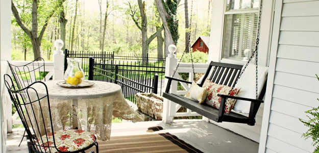 Outdoor Rooms: Porches - Porch - Traditional - New York