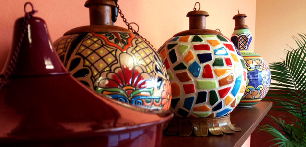 Decorating with Color: Bright Colors - Carla - Style - Outdoor Lighting - Lamps - Lanterns